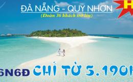 Đà Nẵng – Quy Nhơn 6N6Đ (Xe giường năm cao cấp)